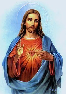 Jesus Christ Sacred Heart art image gallery