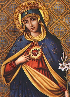 Immaculate heart picture of Mother Mary(virgin Mary) Christian religious downloads free