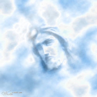 face of Jesus in clouds Christian hd(hq) wallpaper free download for desktop