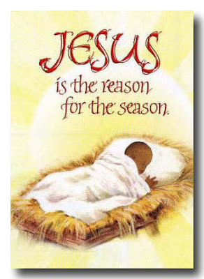 Child Jesus in the manger(stable) with yellow background Christmas card for seasonal greeting and the letters Jesus is the reason for the season Christmas Christian background pictures and wallpapers download for free