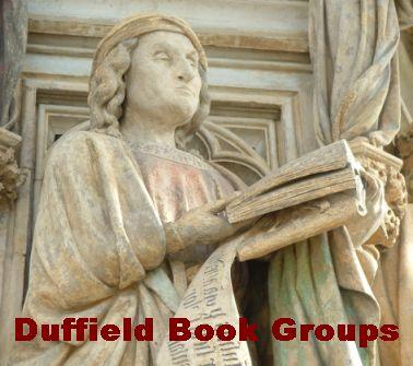 Duffield Book Groups  Si apud bibliothecam hortulum habebis, nil deerit.