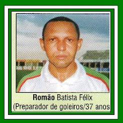 PREPADOR DE GOLEIROS ROMÃO BATISTA