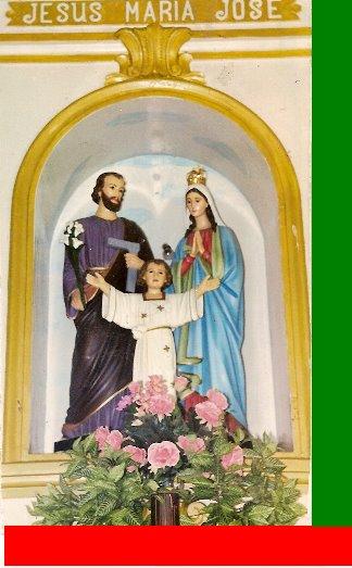 FAMÍLIA SAGRADA - JESUS, MARIA E JOSÉ