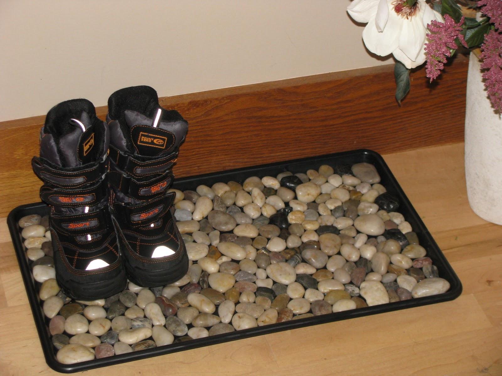 Коврик для сушки обуви своими руками