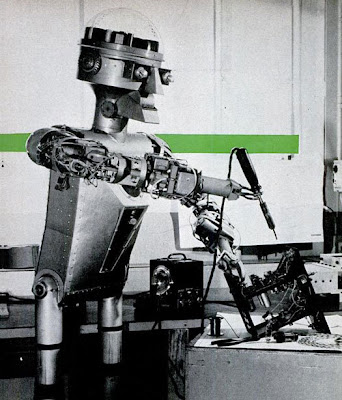 Teknologi purba-robot