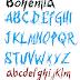 Bohemia: New Font