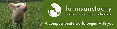 We Support Farm Sanctuary