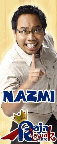 Biodata Profil Nazmi Raja Lawak 5