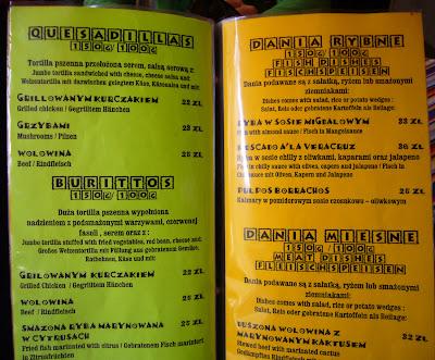 Sobisz Restauracja Meksykańska Gdańsk Cactus Mex Bar