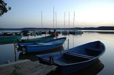 jachty jezioro Pluszne