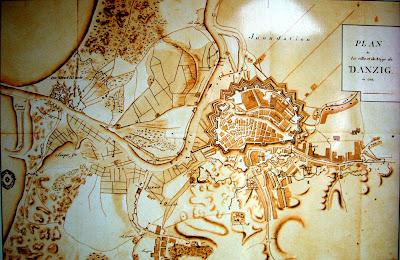 mapa gdańska 18 wiek