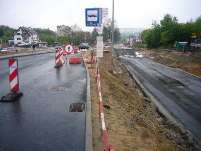 tymczasowy przystanek autobusowy Gdańsk