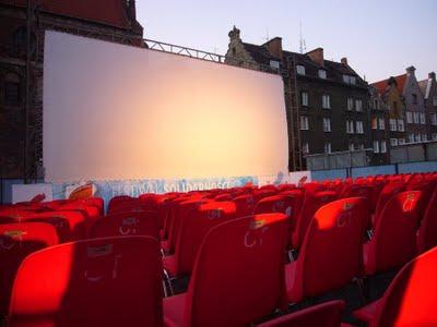 kino pod chmurką, jarmark gdańsk