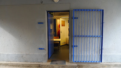 wejście krata drzwi