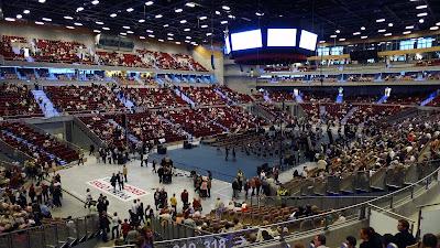 ergo arena w środku