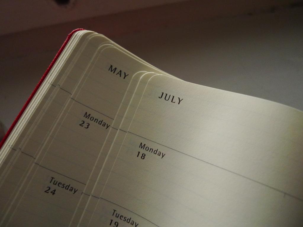 kalendarz moleskine 2011