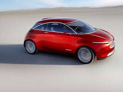 carro conceito ford salão do automóvel