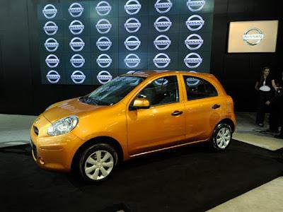 Nissan apresenta no Salão de SP seu primeiro carro popular