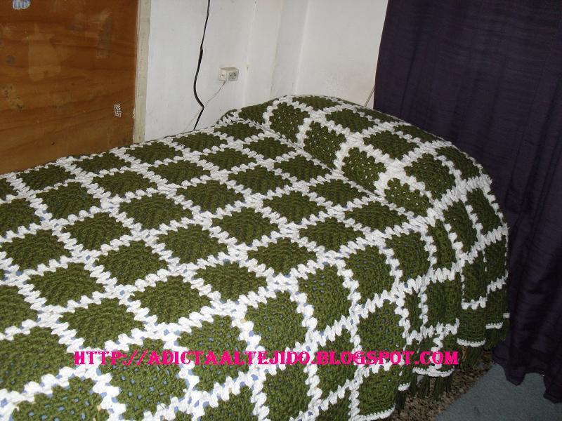 Tejido a crochet colchas - Colchas de crochet paso a paso ...