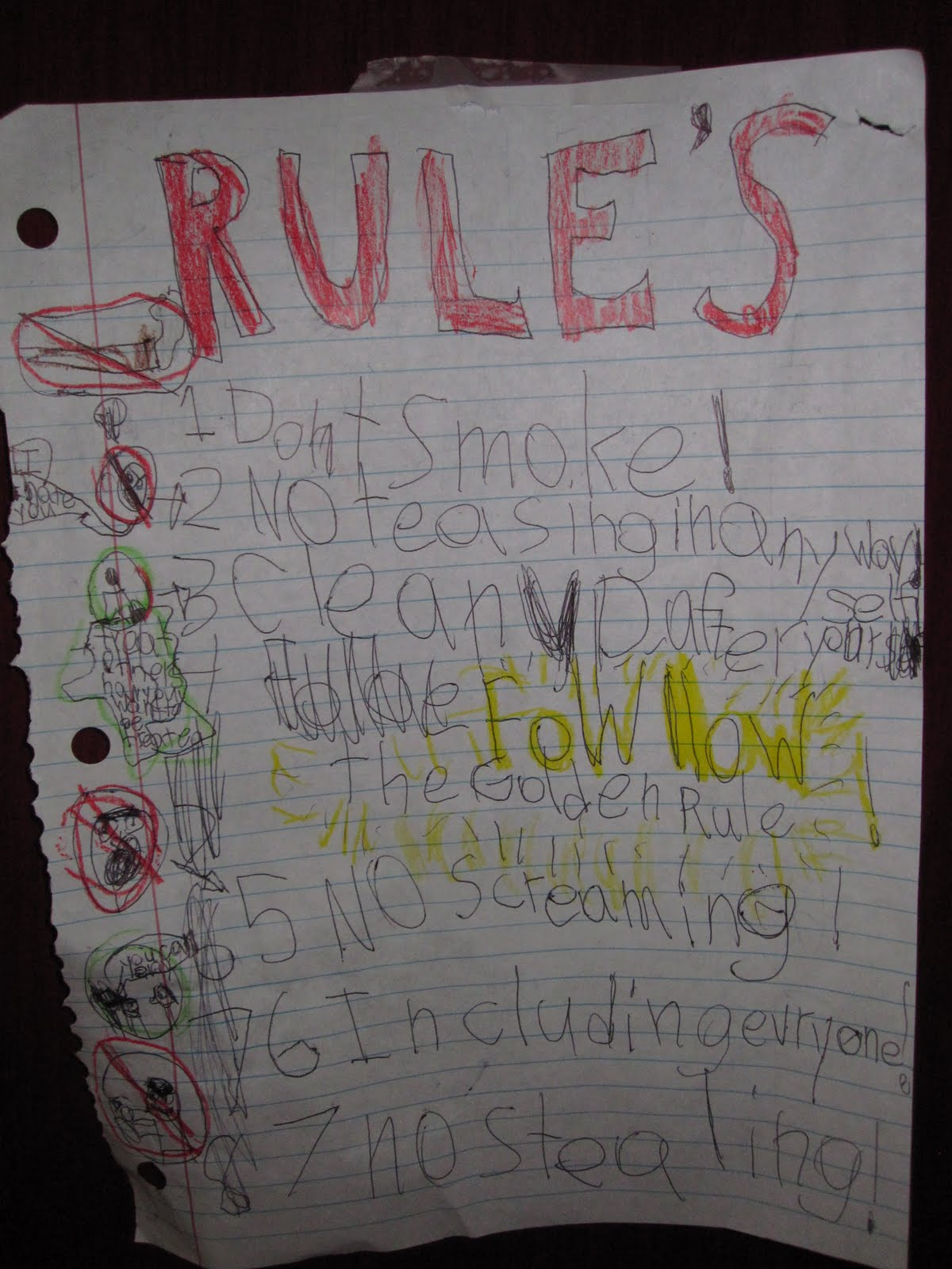 Our Life With Ll Kids Bedroom Rules