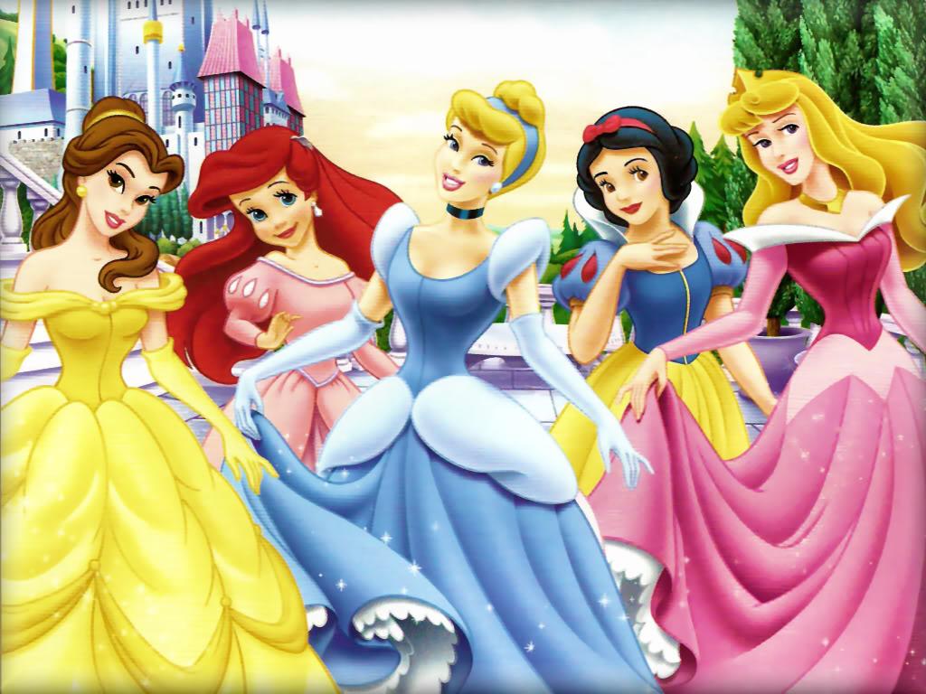 Snow white aurora jasmine ariel anabelle cinderella
