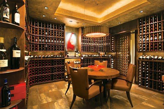Dream Wine Cellar : Newlyweds next door dream home wine room