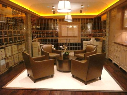 Newlyweds Next Door Dream Home Wine Room