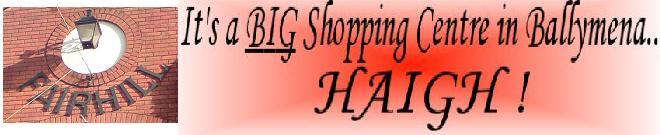 Its a Big Shopping Centre - haigh