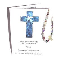 Christening  / baptism bracelet