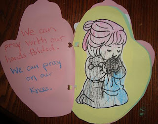 prayer craft for preschoolers