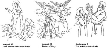 Heres A Mary And Baby Jesus Coloring Page From Real Life At Home