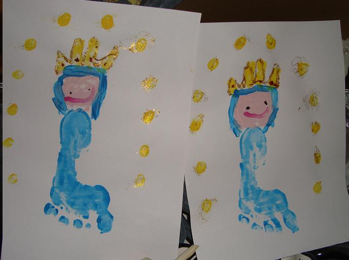Mary Art Project for Kids