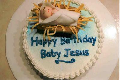 Happy Birthday Jesus Cakes