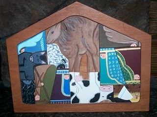 Decorative Painting Patterns Pumpkin Patches Nativity Puzzle Scarecrow