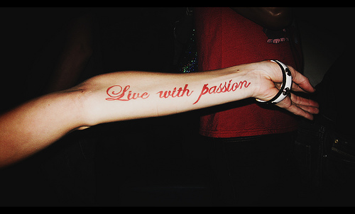 "Passion"" tattoo live"