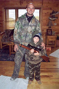 Kaden's first hunting day with dad
