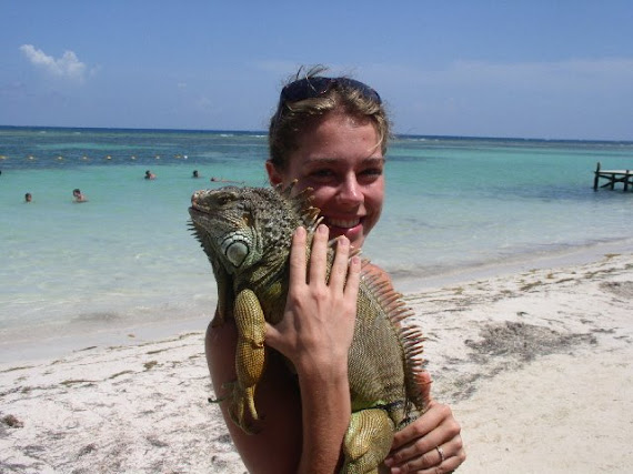 Jessica in Belize