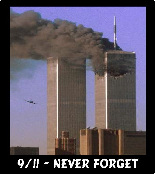 9 11 never forget islam is the enemy