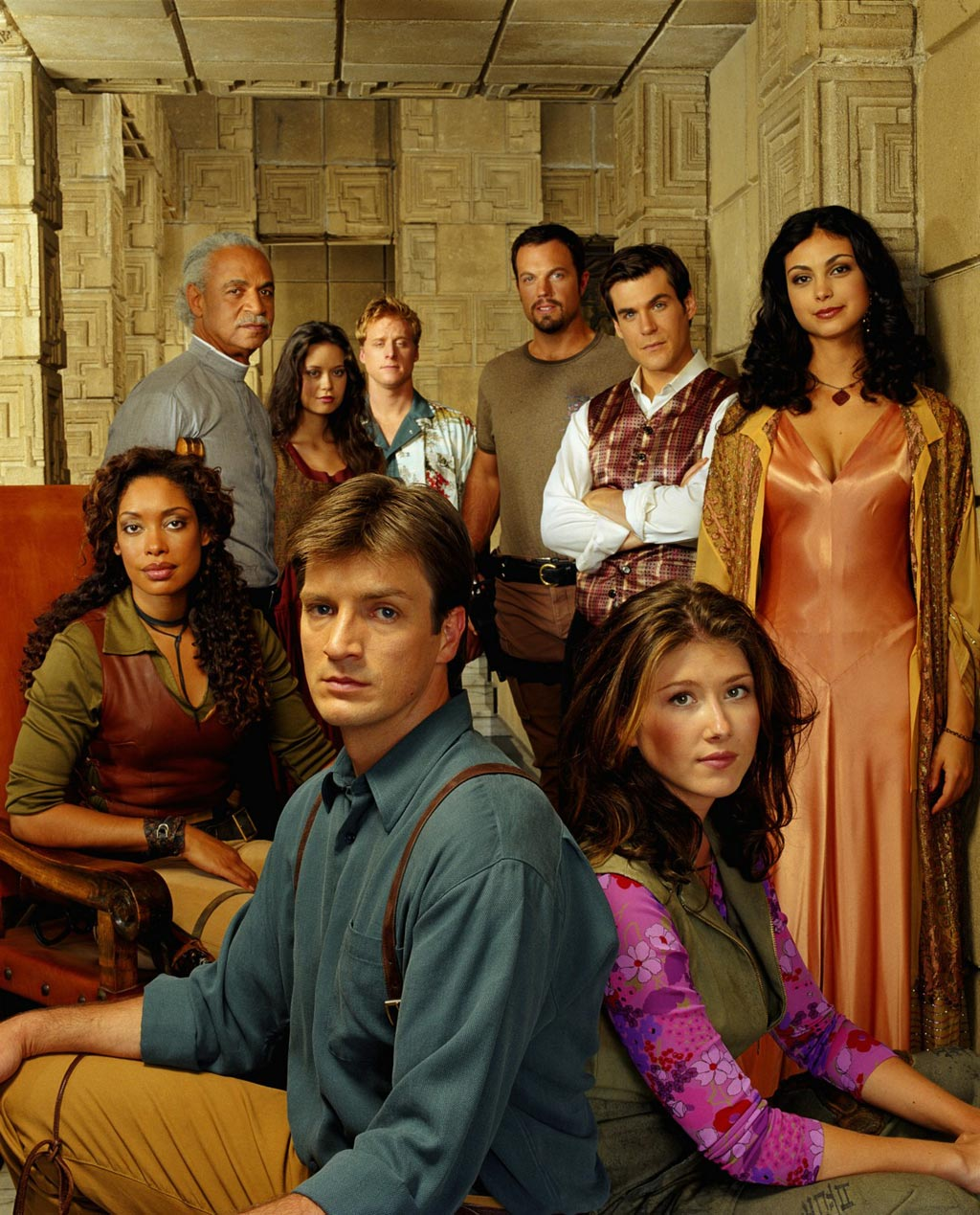 And now  dear reader  I am Joss Whedon s slave Firefly Serenity Cast
