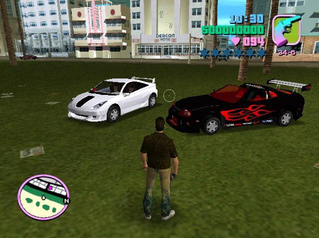 Vice City offers vehicular