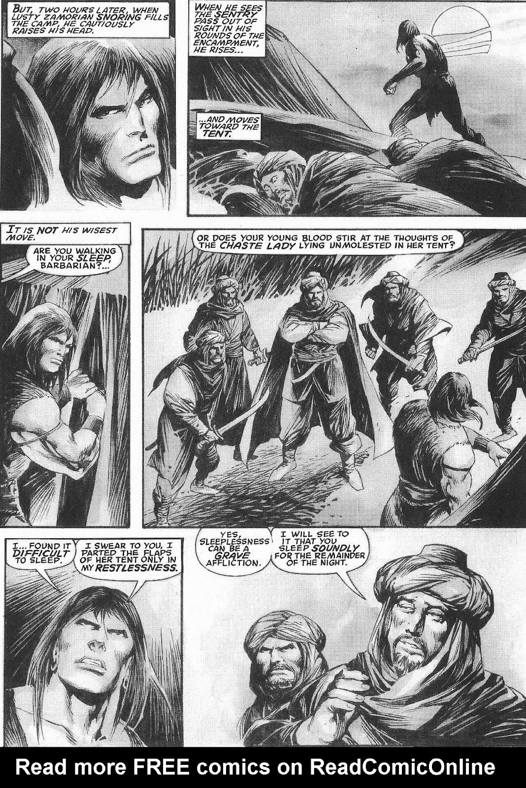 The Savage Sword Of Conan Issue #207 #208 - English 20