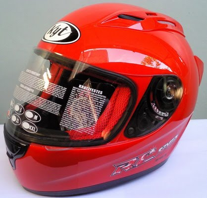 Jualjakethelmblogspot Helm KYT Rc7 Red Solid