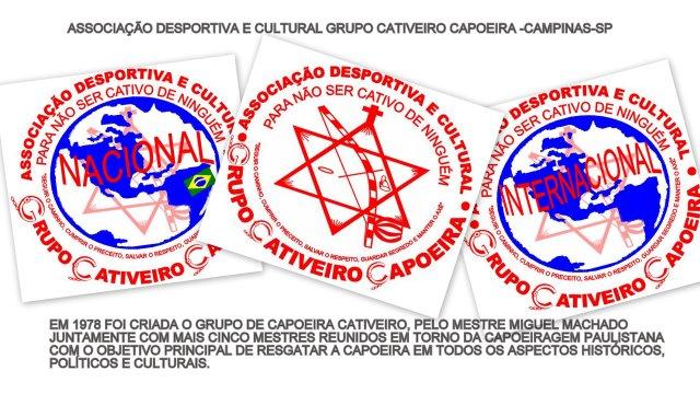 ASSOCIAÇÃO DESPORTIVA E CULTURAL GRUPO CATIVEIRO CAPOEIRA -CAMPINAS-SP