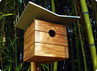 Growing with plants bird house round up for Types of birdhouses for birds
