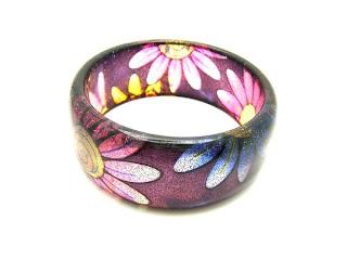 flowery bracelets
