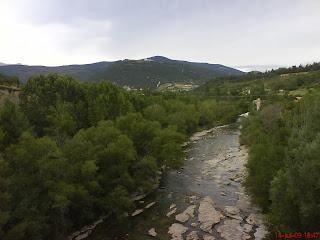 Río Aragón Jaca
