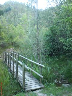 puente madera peña Oroel