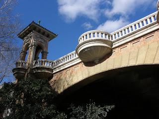 puente peatonal parque Grande Zaragoza Primo de Ribera Laboordeta