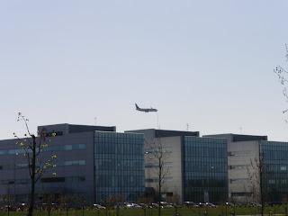 avión techo de PLAZA empresarial
