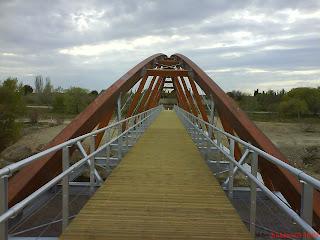 Puente madera San Juan de Mozarrifar